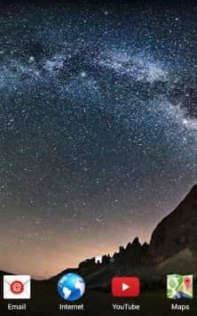 Звездное небо скриншот 3
