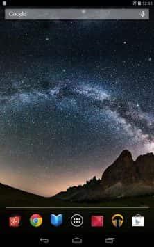 Звездное небо скриншот 4