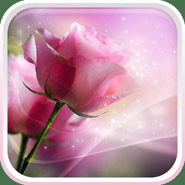 Розовые розы logo