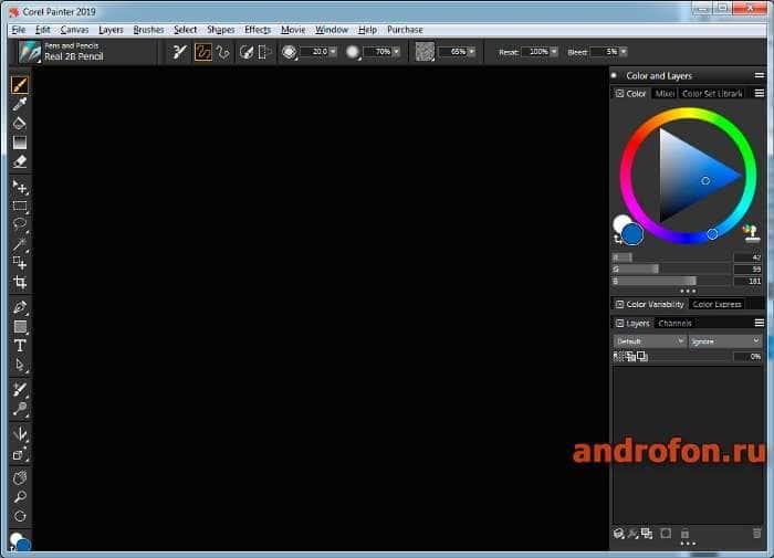 Программа Corel Painter.