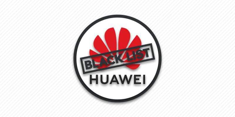 Huawei в черном списке США.