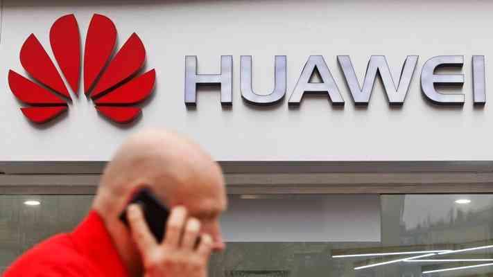 Работа смартфонов Huawei.