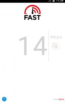 FAST Speed Test скриншот 1