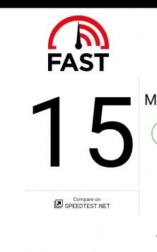 FAST Speed Test скриншот 2