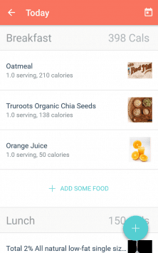 MyPlate Calorie Tracker скриншот 4