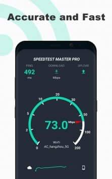 Cпидтест: SpeedTest Master - скорость интернета скриншот 1
