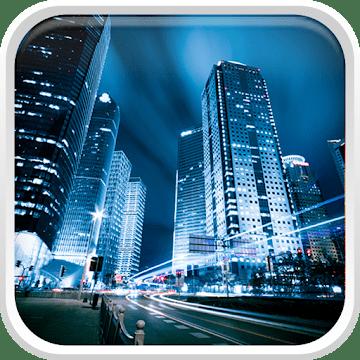Ночной город logo