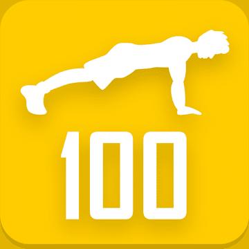 100 отжиманий курс тренировок. Мощная грудь и руки logo