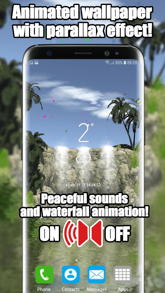 3D Водопад скриншот 3