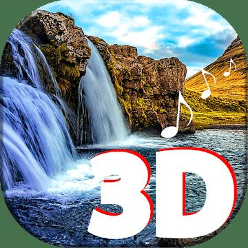3D Водопад logo