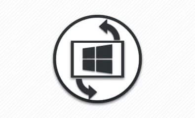 Вращение экрана ноутбука.