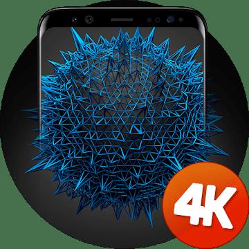 3D обои 4k logo