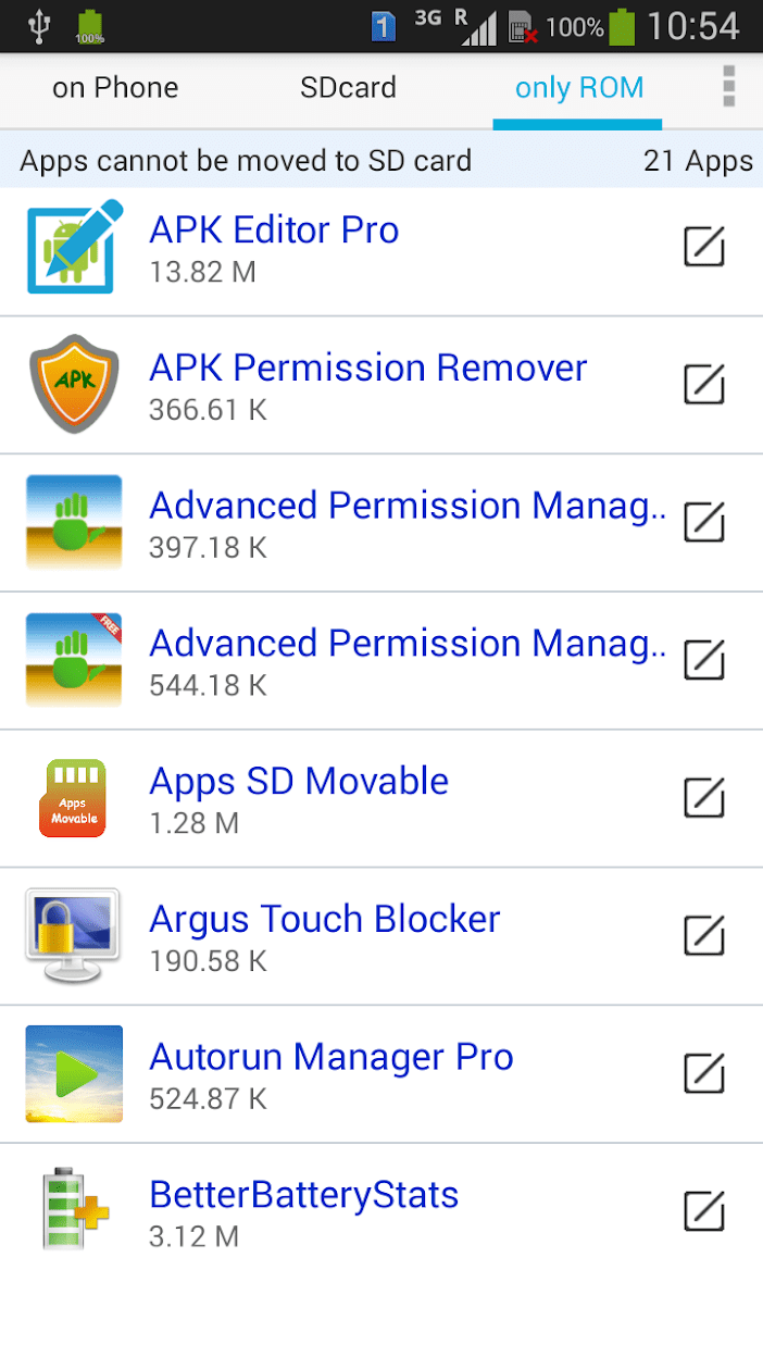 Apps Movable скриншот 1