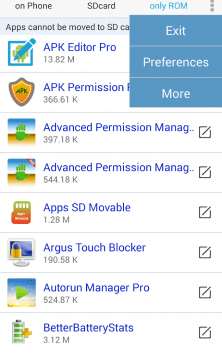 Apps Movable скриншот 4