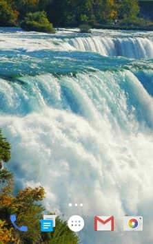 Waterfall Live Wallpaper 2019 скриншот 1