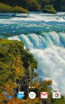 Waterfall Live Wallpaper 2019 скриншот 3