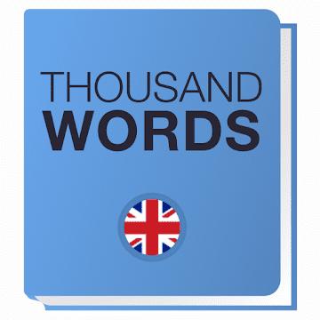 1000 слов. Карточки и тесты logo