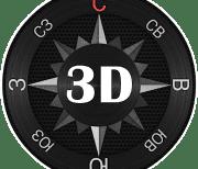 Компас Сталь 3D logo