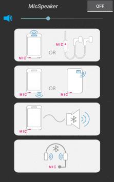 Микрофон и динамик скриншот 1