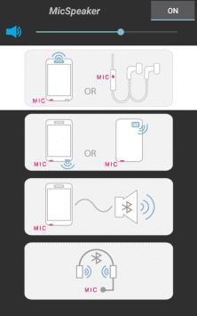 Микрофон и динамик скриншот 2