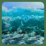 Волны живые обои