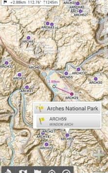AlpineQuest Off-Road Explorer (Lite) скриншот 1