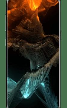 S10 Live Wallpaper HD, Amoled скриншот 2