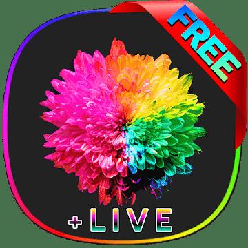 S10 Live Wallpaper HD, Amoled logo