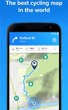 Bikemap - Your Cycling Map & GPS Navigation скриншот 1