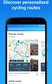 Bikemap - Your Cycling Map & GPS Navigation скриншот 2