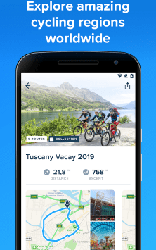 Bikemap - Your Cycling Map & GPS Navigation скриншот 4