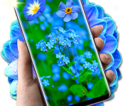 Blue Flowers Free 3D - HD logo