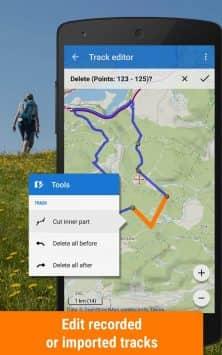 Locus Map Free - наружная GPS-навигация и карты скриншот 3