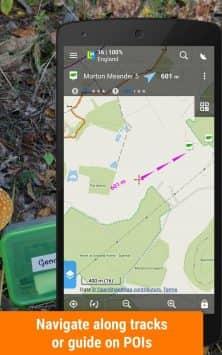 Locus Map Free - наружная GPS-навигация и карты скриншот 4