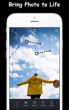 Movepic - Движение фото и Cinemagraph скриншот 1