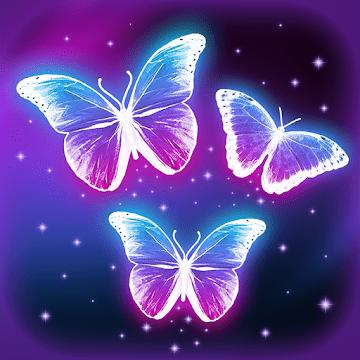 Интерактивные неоновые Бабочки logo