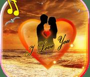 Любовь Море Закат logo