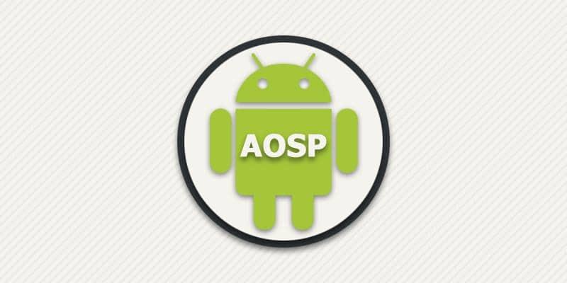 Что значит AOSP.