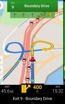CoPilot Truck GPS скриншот 2