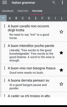 Italian grammar - Learn Italian grammar exercises скриншот 3