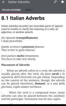 Italian grammar - Learn Italian grammar exercises скриншот 4