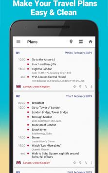 SaveTrip - Travel itinerary & Travel expenses скриншот 1