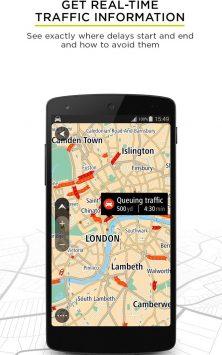 TomTom GPS Navigation - Traffic Alerts & Maps скриншот 2