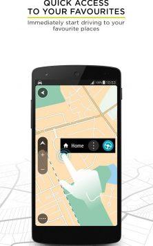 TomTom GPS Navigation - Traffic Alerts & Maps скриншот 3