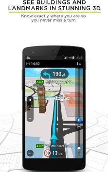 TomTom GPS Navigation - Traffic Alerts & Maps скриншот 4