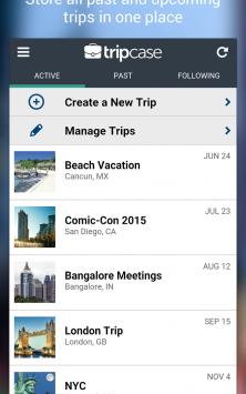 TripCase – Travel Organizer скриншот 3