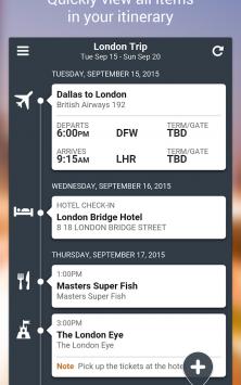 TripCase – Travel Organizer скриншот 4