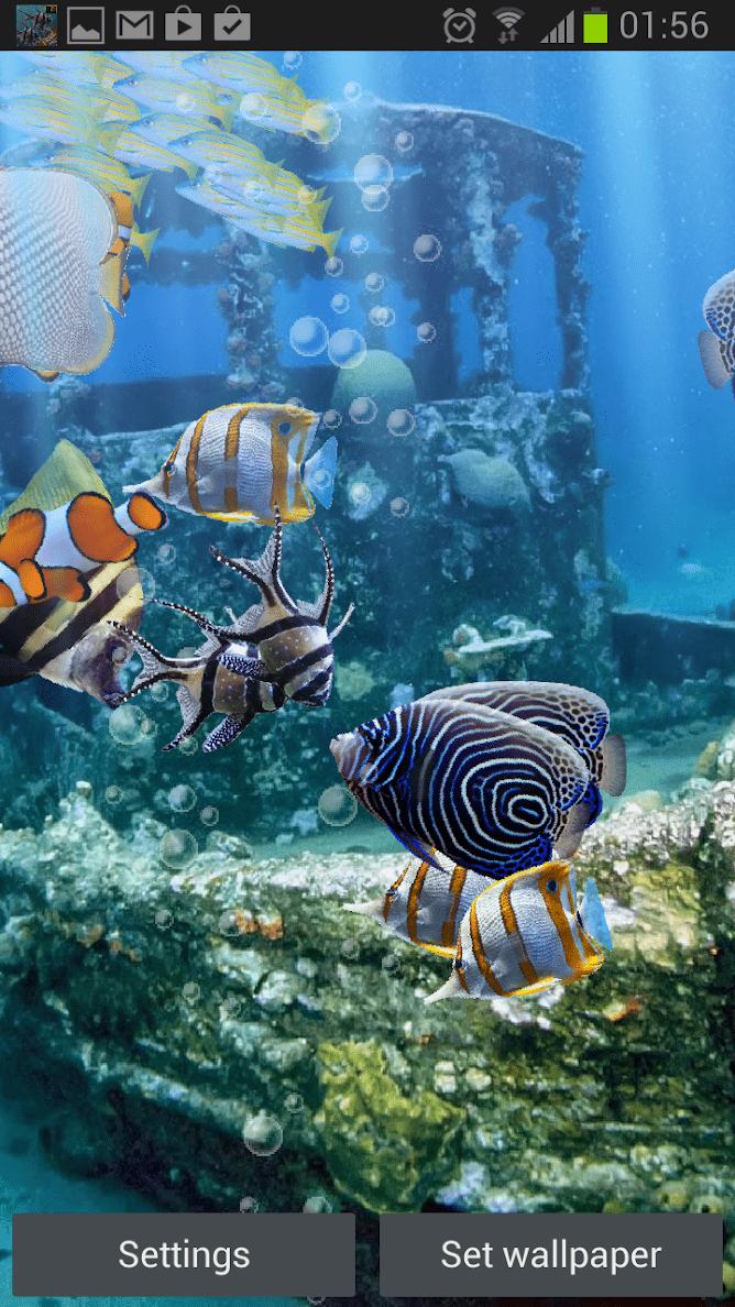 Настоящий аквариум – HD скриншот 2