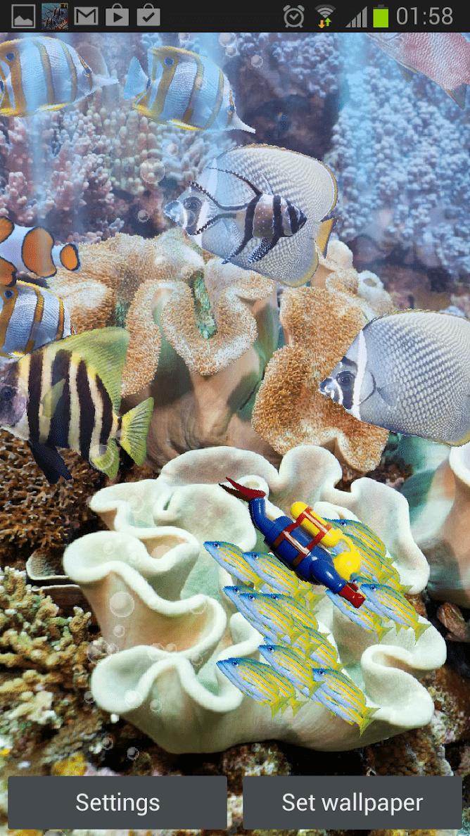 Настоящий аквариум – HD скриншот 4