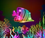 Неоновые рыбки logo